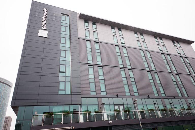 Pentahotel Birmingham, Install by Syte
