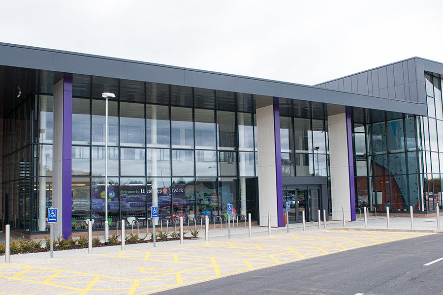 Flitwick Leisure Centre install by Syte Architectural